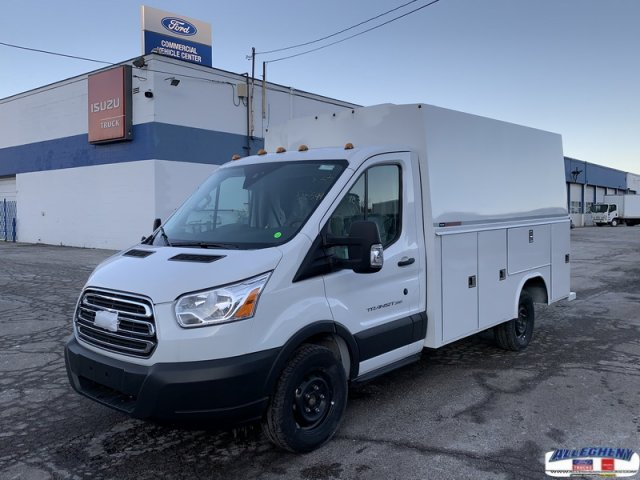 New 2018 Ford Transit Cutaway T350 4x2 Covered Service Body