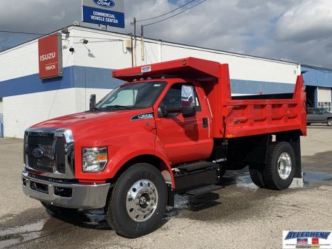 New 2019 Ford Medium Truck F650 F6A
